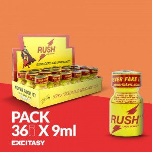 PACK COM 36 RUSH PWD 9ML